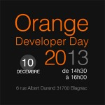 Orange Developer Day 2013